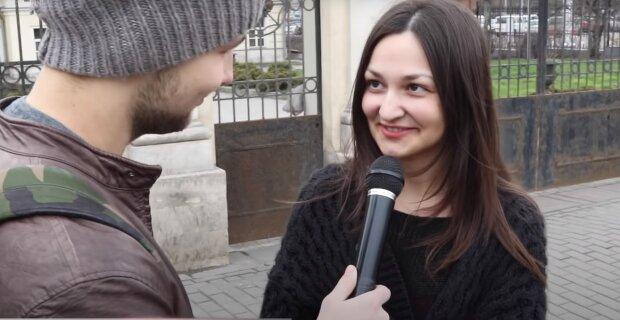 Інтерв'ю на вулиці, скріншот: Youtube