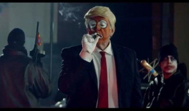 "Снуп Дог ""пристрелил"" обкуренного Трампа"