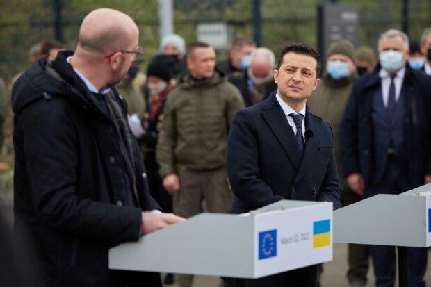 Владимир Зеленский и Шарль Мишель, фото president.gov.ua