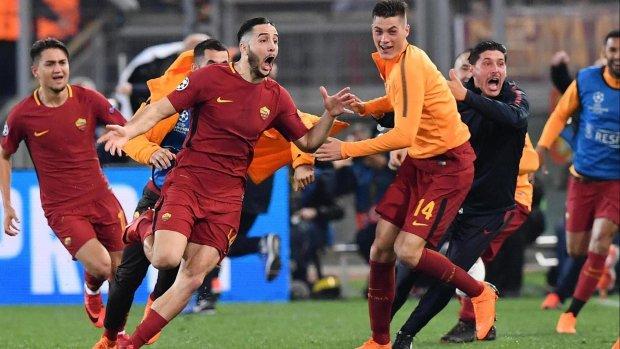 Фанат Ромы бросил вызов футболистам и по полной опозорился: видео