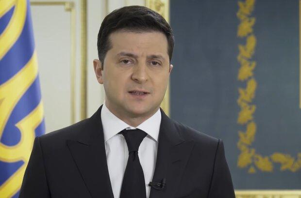 Володимир Зеленський, кадр з відео
