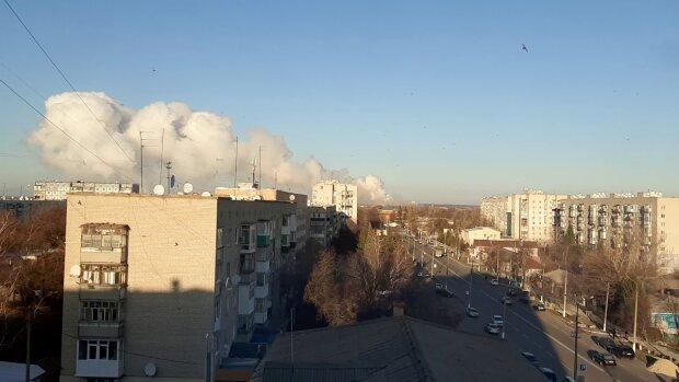 взрывы на арсенале в Балаклее