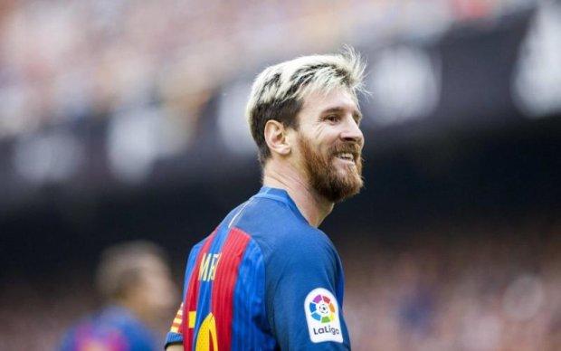 Барселона продемонстрировала, как менялся имидж Месси