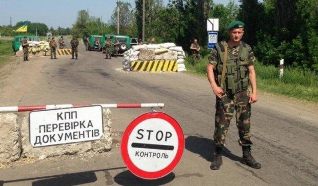 Боевики снова обстреляли несколько контрольных пунктов