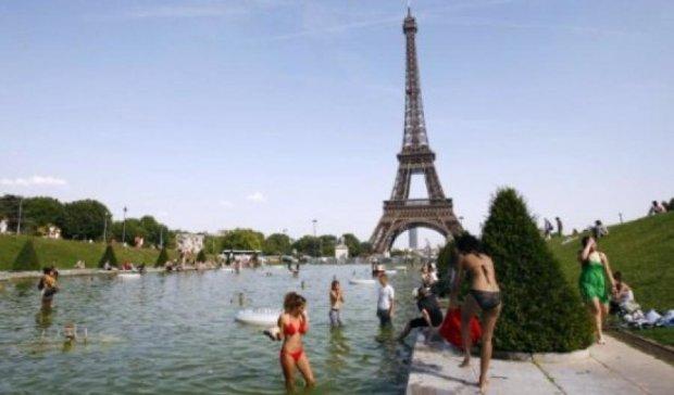 Париж накрила аномальна спека