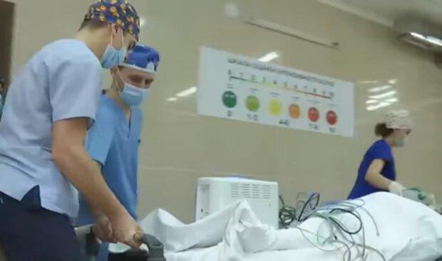 Больницы во время пандемии, кадр из видео