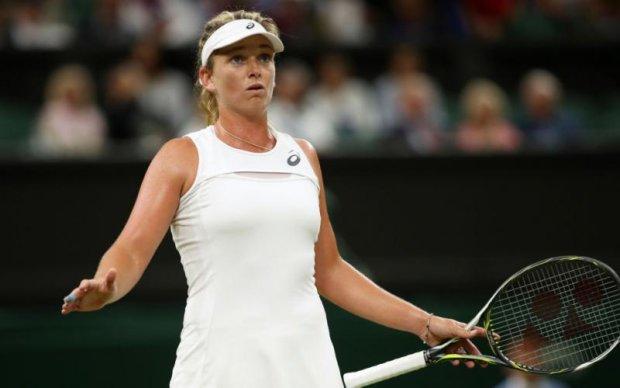 Американська тенісистка влаштувала скандал під час матчу на Вімблдоні