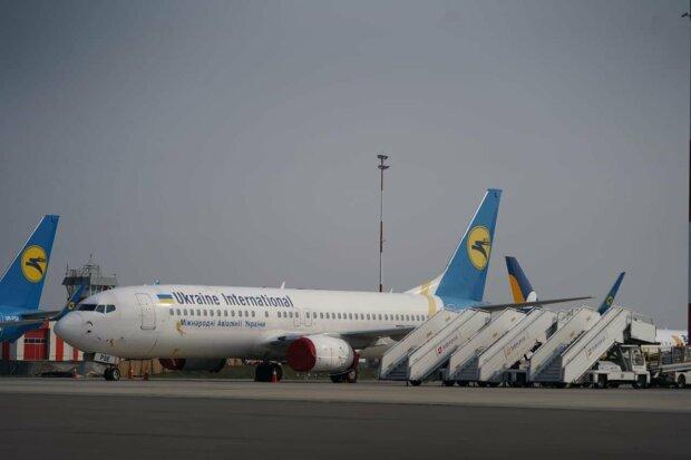 Самолет МАУ, фото с Facebook