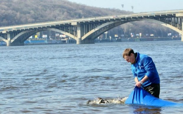 Реве та стогне: Дніпро перетворився на стічну канаву