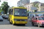 Водитель маршрутки закинулся колесами и с ветерком прокатил жителей Кривого Рога: фото