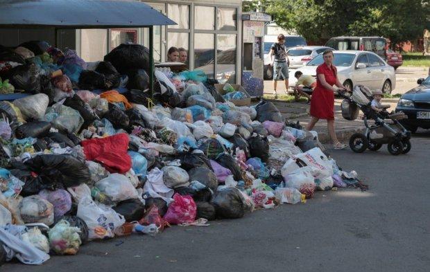 Гори сміття, сморід та тотальне свинство: закулісся курортної Одеси показали одним фото