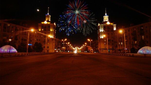 Новий рік у Запоріжжі, фото: Запорізька Січ