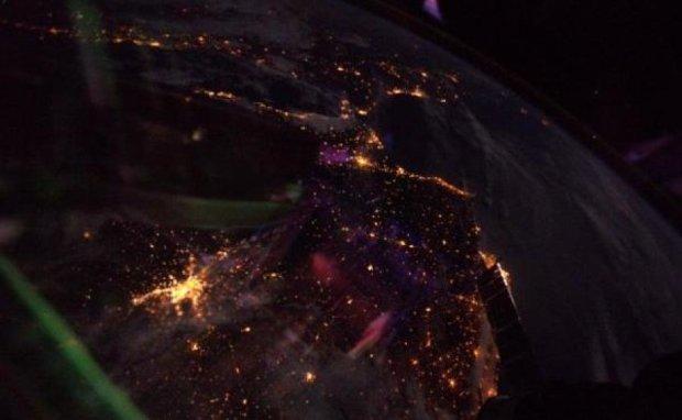 Астронавт показал удивительный вид из окна МКС
