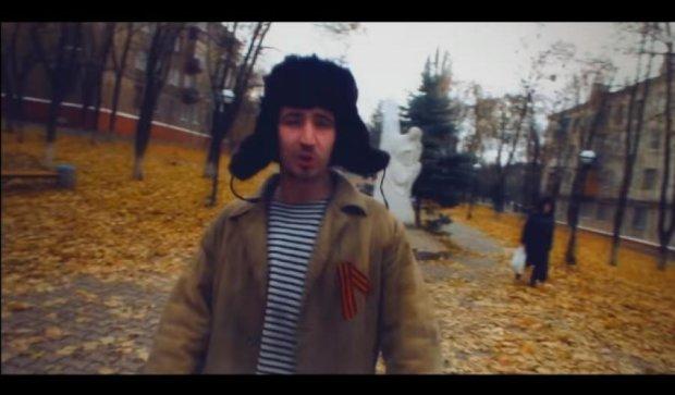 В Краматорске читали антипутинский рэп «Вата F*ck» (видео)