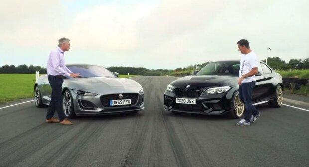 BMW M2 CS And Jaguar F-Type, скриншот