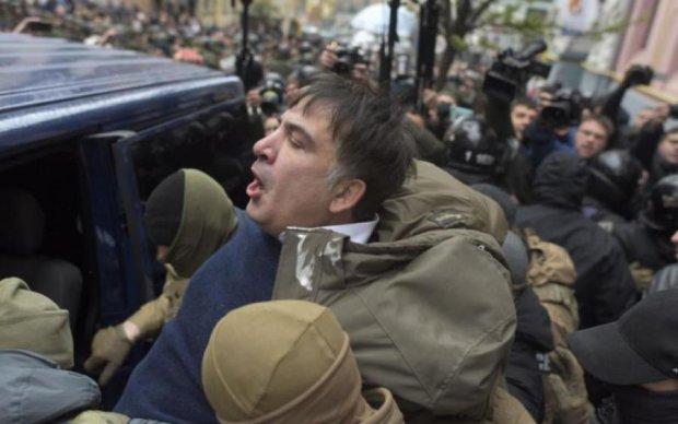 Саакашвили обратится к украинцам из Польши: прямая трансляция