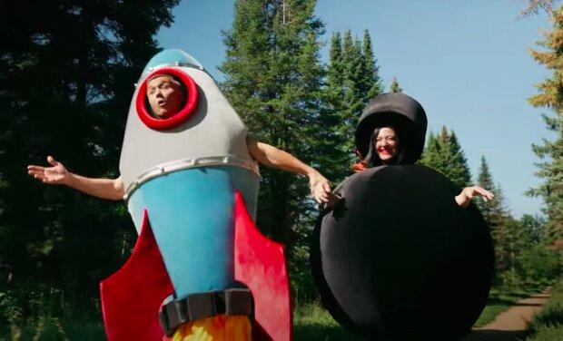Сергей и Снежана Бабкины, скриншот YouTube