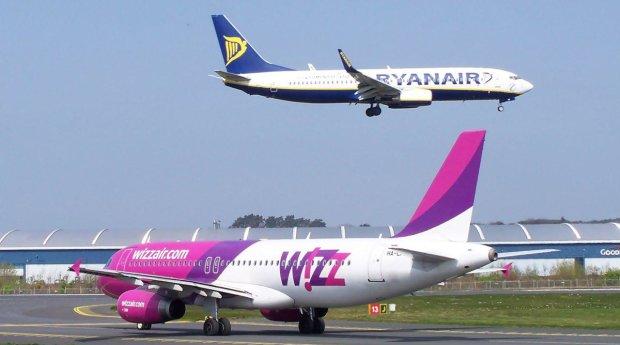 Wizzair і Ryanair покарали за нахабний обман пасажирів: мільйонні штрафи