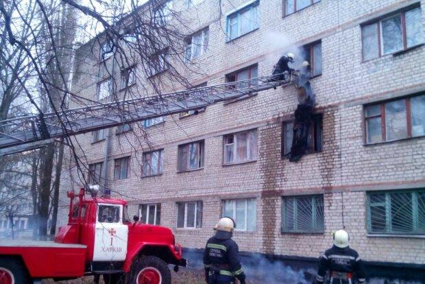 Пожежа в Харкові, фото: Наш город Харьков