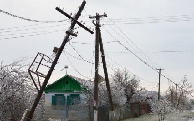 Аномальная погода и лавины оставили Южную Осетию без света