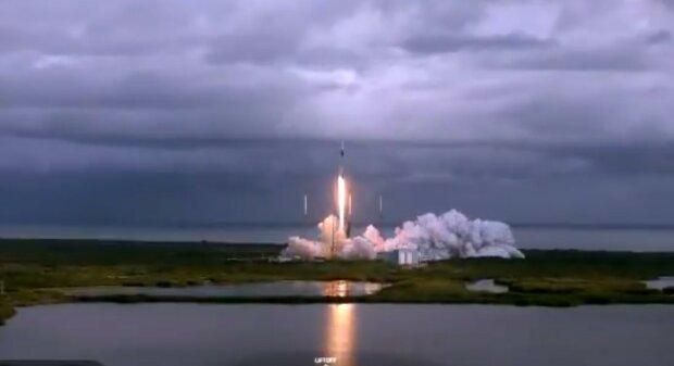 SpaceX, скріншот з відео