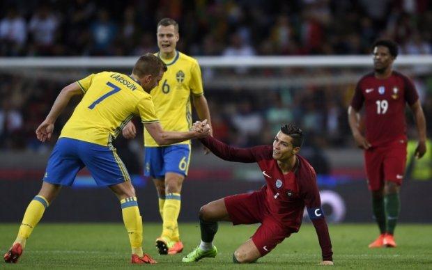 Португалия - Швеция 2:3 Видео голов и обзор матча