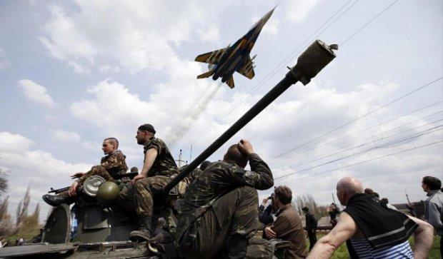 Сепаратисти весь вечір стріляли у трьох напрямках - прес-центр АТО