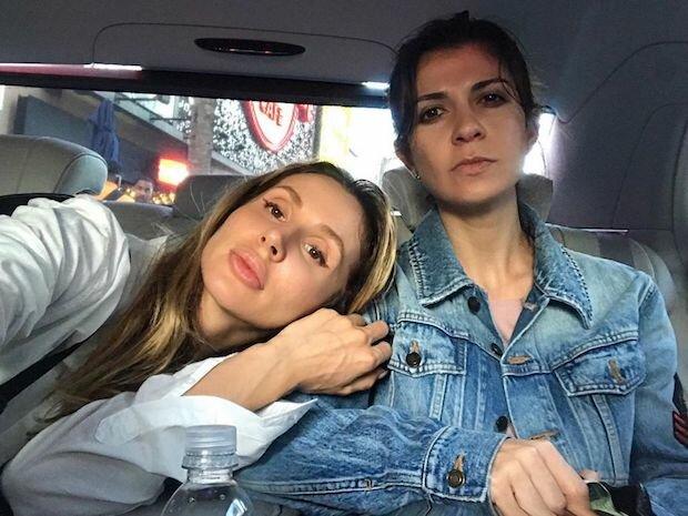 Світлана Лобода і Нателла Крапівіна, фото Instagram