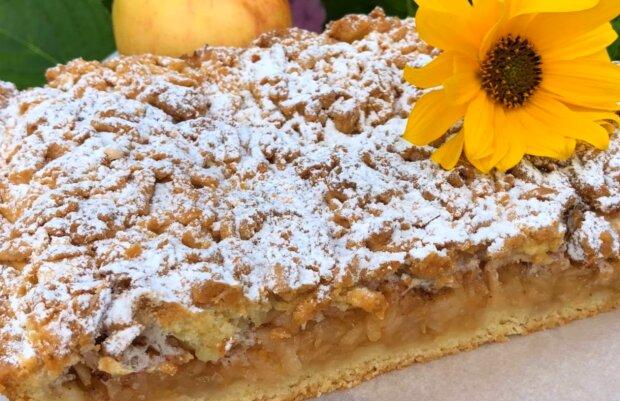 Яблучний пиріг, фото: кадр з відео