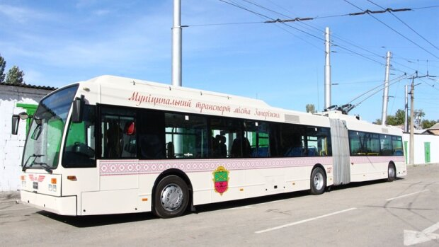 В Запорожье завезли современный транспорт из Европы - Буряк постарался перед выборами