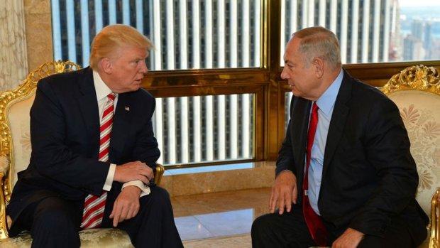 Нетаньяху позвал Трампа укреплять дружбу в Израиль
