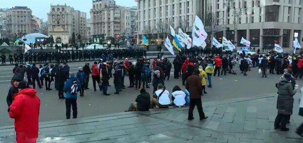 Майдан Незалежності, фото: скріншот з відео