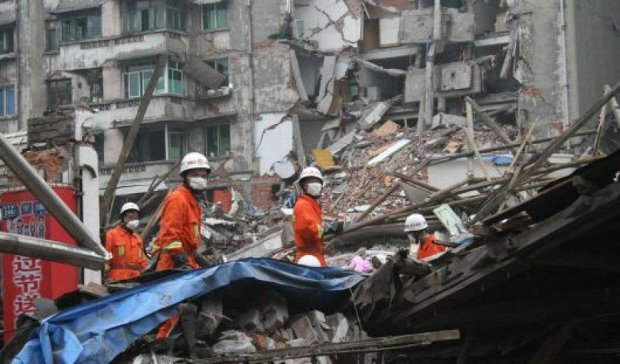 Жертвами землетрясения в Китае стали два человека