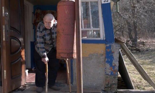 Іван Бухно, кадр з репортажу Суспільне: Facebook