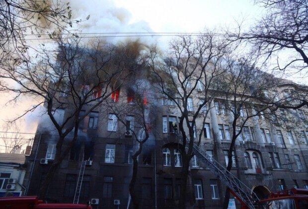 Пожежа в одеському коледжі, Думська