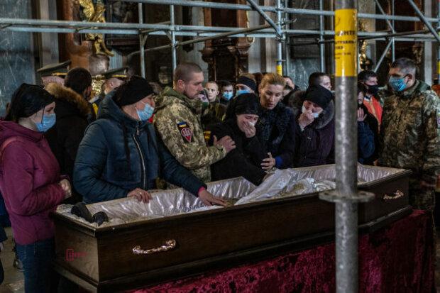 Прощання з Іваном Горошком, фото: Дивись-інфо