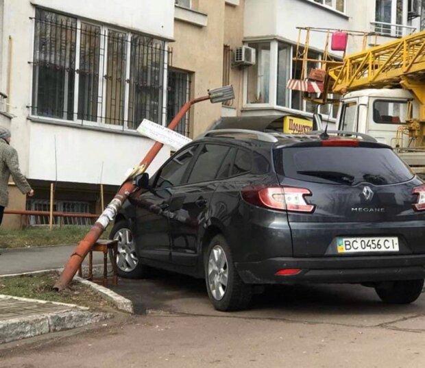 Шторм во Львове, фото: Варта