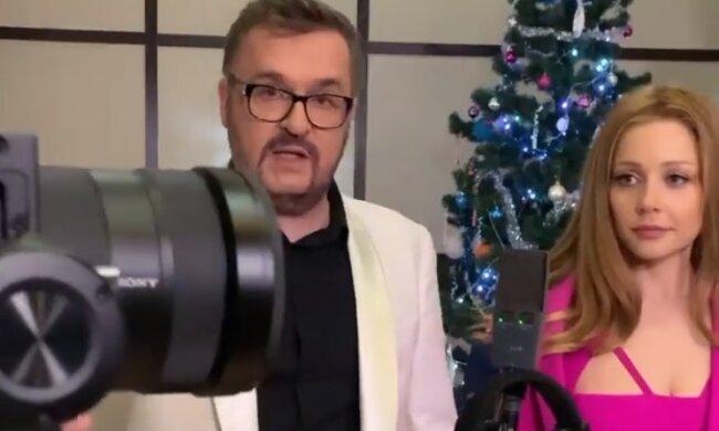 Олександр Пономарьов і Тіна Кароль, скріншот відео