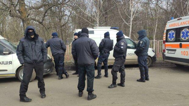 Протесты в Новых Санжарах, фото:poltava.to