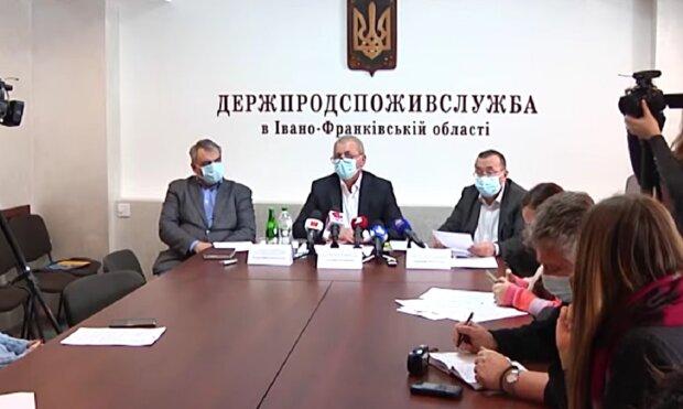 Засідання Держпродспоживслужби, кадр з репортажу каналу 402: Facebook