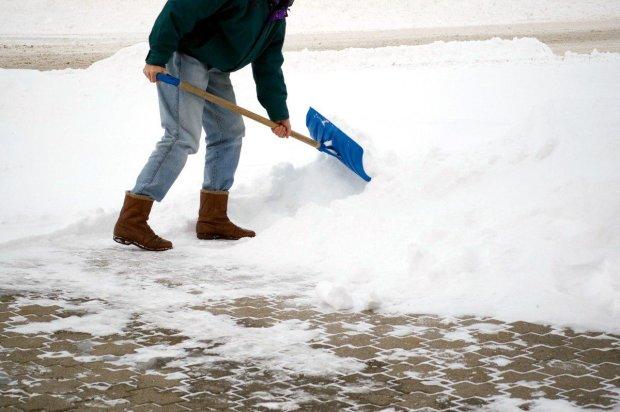 Российских учителей заставили собирать снег в мешки, и это не шутка: фото