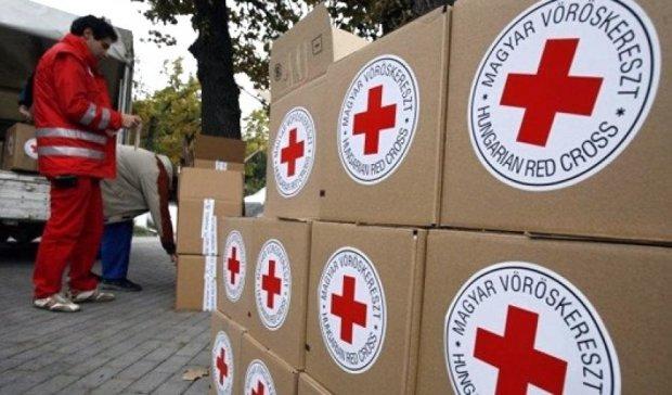 """В """"ДНР"""" не пропустили 255 тонн гуманітарки від """"Червоного хреста"""""""