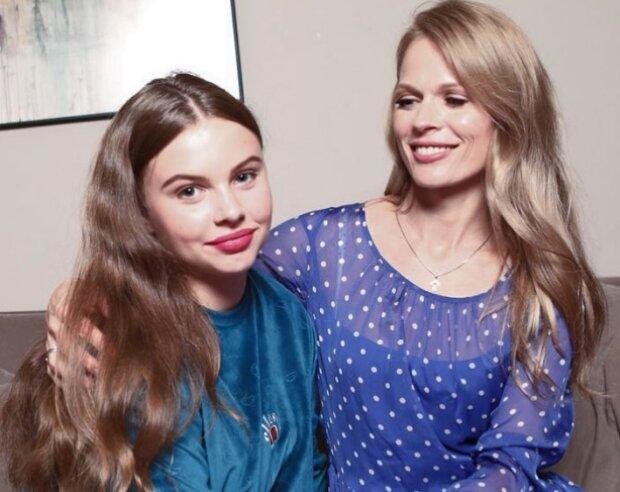 Ольга Фреймут з донькою: фото instagram