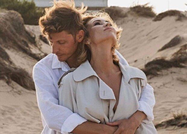 Павел Воля с женой, фото с Instagram