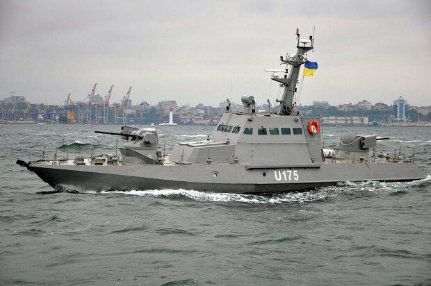 Прибытие украинских кораблей в Очаков, 5 канал
