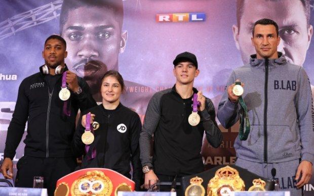 Кличко - Джошуа: В вечере бокса будут участвовать четыре олимпийских чемпиона