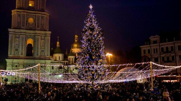 Новий рік у Києві, фото: Вечірній Київ