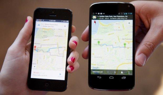 Google навчив сервіс Maps новим функціям