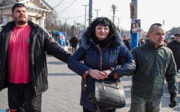 """Українська """"активістка"""" засвітилася на Кремль ТВ"""