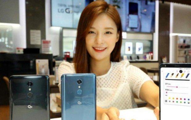 LG Q8: бюджетная версия Galaxy Note 9 со стилусом